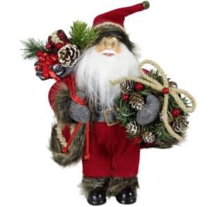 "80cm ""Fiete"" Santa Figurine - Santa Figures For Sale Dublin Ireland"