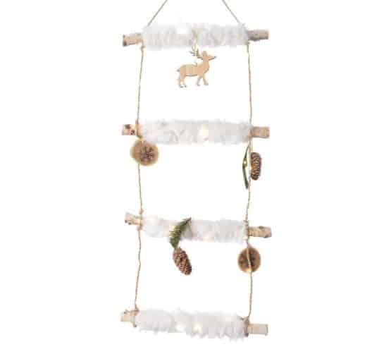 Micro LED Fur Ladder - Christmas Lights For Sale Dublin Ireland