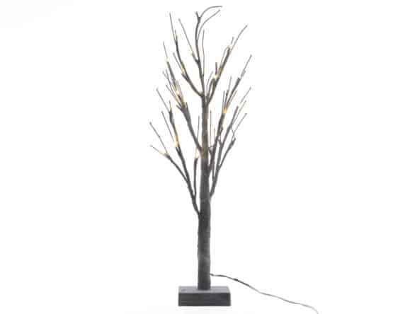 4ft LED Grey Chalk Artificial Christmas Tree - Artificial Christmas Trees For Sale Dublin Ireland