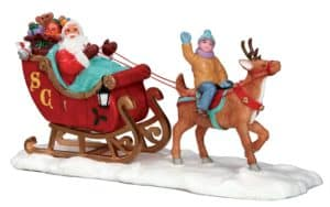Lemax Santa's Sleigh *Collection Only*