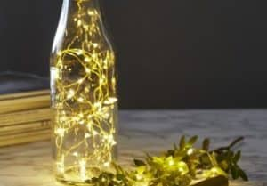 LED Warm White Bottle Christmas Lights