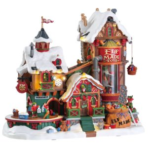 Lemax Elf Made Toy Factory *Collection Only*