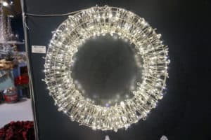Micro LED Christmas Wreath - Christmas Lights For Sale Dublin