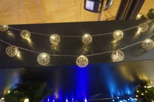 LED Wire Ball String Christmas Lights