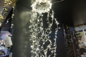 Silver String Christmas Lights