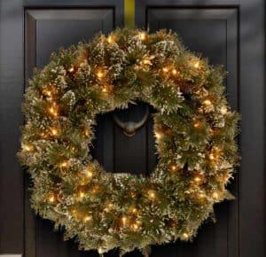 Christmas Wreaths Pre-Lit