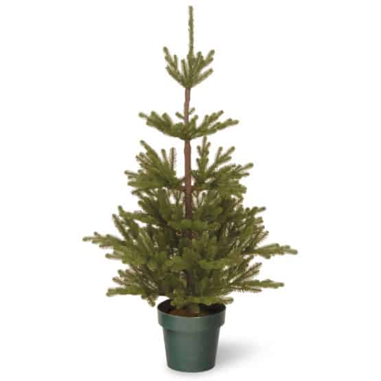 4ft Imperial Spruce Potted Artificial Christmas Tree - Artificial Christmas Trees For Sale Dublin Ireland