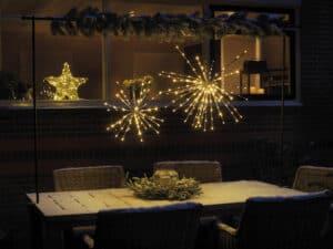 Polestar Silver Flashing LED Christmas Light 45cm