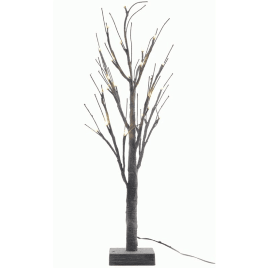 6ft LED Grey Chalk Artificial Christmas Tree For Sale Dublin Ireland
