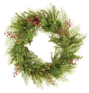 """24"""" (60cm) Sanna Pine & Berry Christmas Wreath - Christmas Wreaths For Sale Dublin Ireland"""