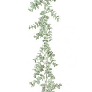 6ft Snowy Eucalyptus Christmas Garland - Christmas Garlands For Sale Dublin Ireland