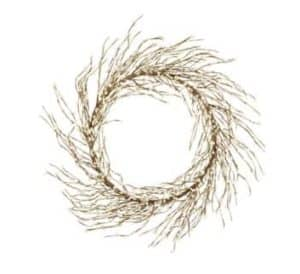 "22"" (55cm) Pixie Berry Christmas Wreath"