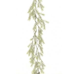 5.5ft Snowpine Christmas Garland