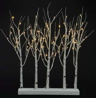2.5ft Twinklebirch Grove LED - LED Christmas Lights For Sale Dublin Ireland