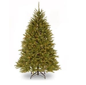 7.5ft Dunhill Fir Pre-Lit Artificial Christmas Tree