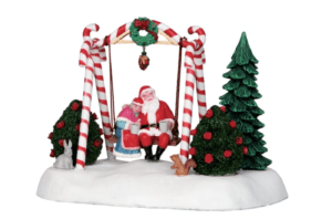 Lemax Santa's Swing *Collection Only*