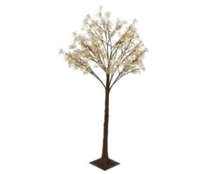 5ft LED Flower Artificial Twig Christmas Tree
