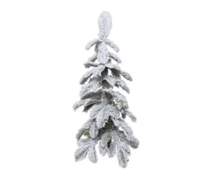 2.5ft Snowy Alpine Mini Artificial Christmas Tree