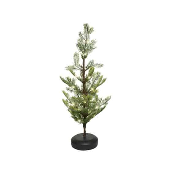 2ft Frost Mini Christmas Tree With LED Lights - Christmas Trees For Sale Dublin Ireland