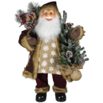 "80cm ""Julian"" Santa Figurine- Santas and Moose Figures For Sale Dublin"