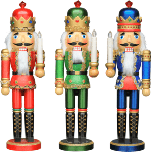 Nutcracker With LED Candle 38cm