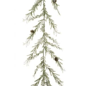 6ft Iced Angel Pine Christmas Garland