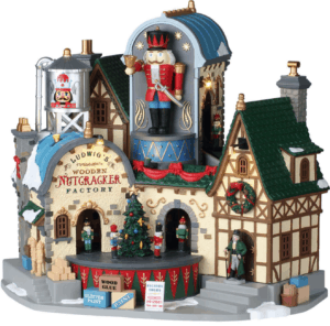 Lemax Ludwig's Wooden Nutcracker Factory *Collection Only*