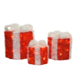LED Red Gift Box Set