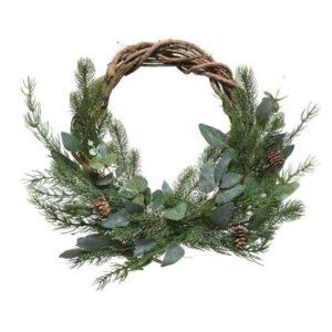 "16"" (40cm) Luxury Christmas Willow Wreath"
