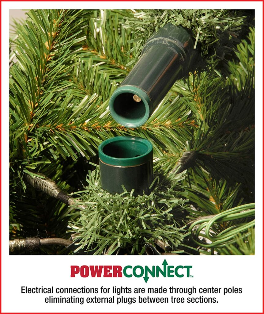 Power Connect Pre-Lit Christmas Trees - XMAS Trees For Sale Dublin