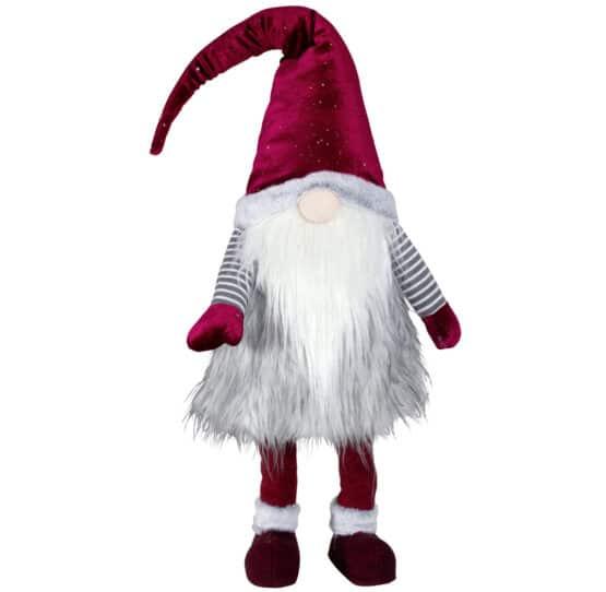 Wobbling Gnome Light Grey 65cm - Christmas decorations for sale Dublin