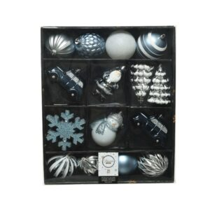 Mixed Christmas Bauble Box Winter Blue *Online Only*