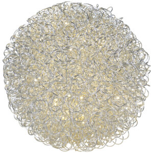 Aluminum Lighted Ball *Online Only*