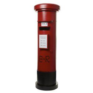 Red Santa Post Box