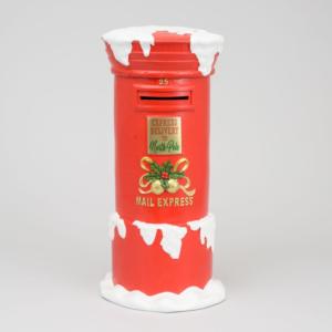 Red Santa's Mailbox Mailbox 82cm
