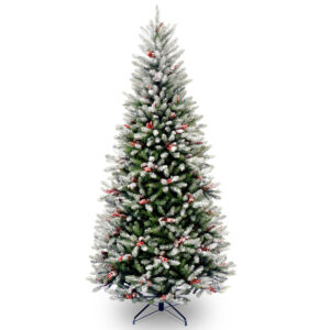 7.5ft Frosted Windfield Fir Artificial Christmas Tree *Online Only*