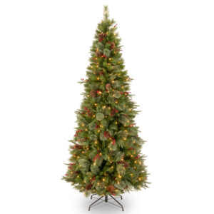 7ft Colonial Fir Pre-Lit Artificial Christmas Tree *Online Only*