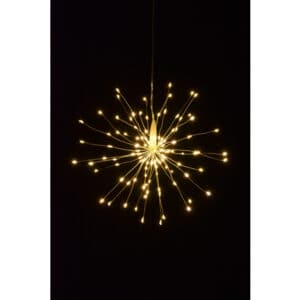 30cm Starburst LED Light Warm White