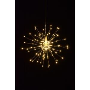 30cm Starburst LED Christmas Light Warm White