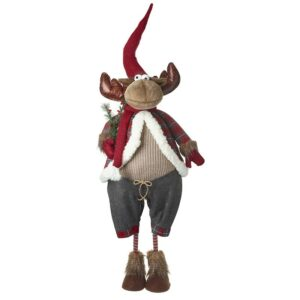Reindeer In Grey Shorts 165cm