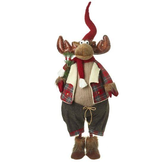 Christmas Grey moose - Christmas Decorations For Sale Dublin