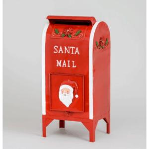 Santa Mailbox Red/White 65cm
